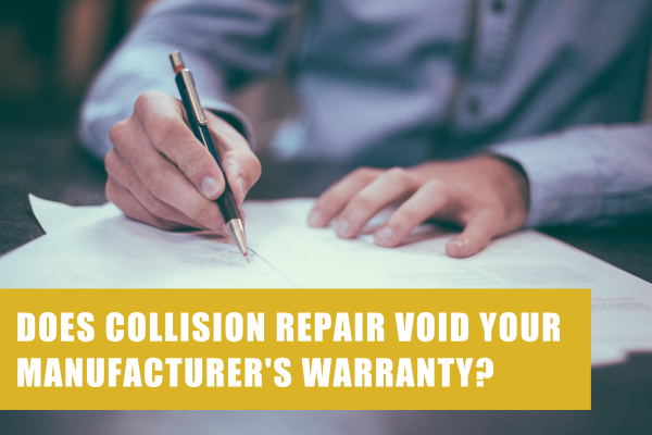 does collision repair void manufacturers warranty