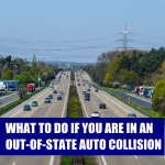 out of state auto collision