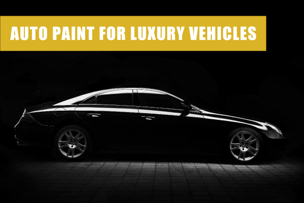 auto paint for luxury vehicles
