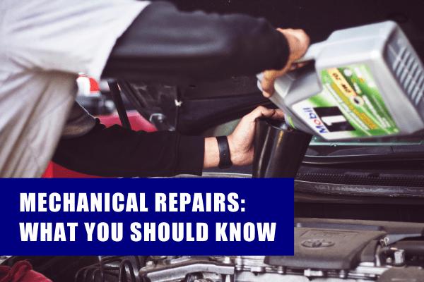 mechanical repair services